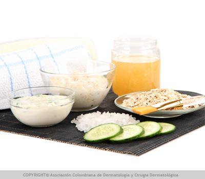 tratamientos caseros acné